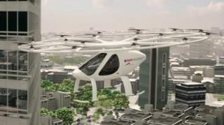 นครดูไบระบุว่าจะเริ่มการทดสอบโวโลคอปเตอร์ (Volocopter) นาน 5 ปี ภายในปีนี้