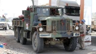 در جریان درگیریهای اخیر جدایی طلبان، نیروهای دولتی را از بندر عدن به عقب راندند