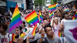 Japonya'da LGBTi yürüyüşü
