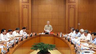 Ông Trần Quốc Vượng là Ủy viên Bộ Chính trị, Thường trực Ban Bí thư.