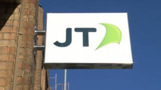 JT sign