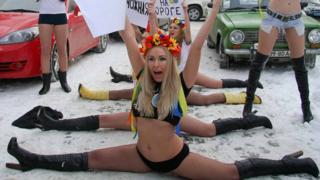 Femen переехали из Украины в 2013 году