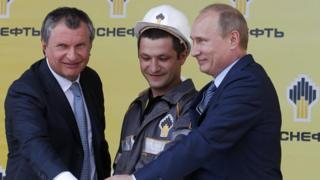 Путін і Сєчин