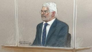 max Clifford court sketch