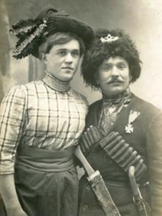 1910'lu yıllarda Rus 'Travesti' tiyatrosu