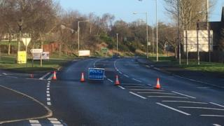 A man died in the collision in Poyntzpass