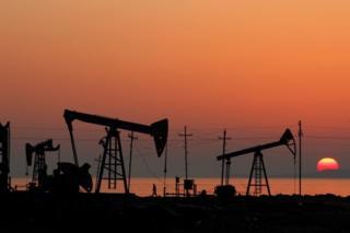 Нефтяные месторождения в Баку