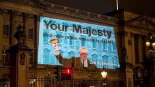 Boris Johnson liar projection