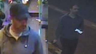 CCTV images of a man seen in the area of the Broomielaw