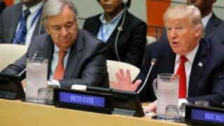 Le secrétaire général de l'ONU Antonio Guterres redoute une importante crise humanitaire.