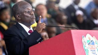 Prezida Magufuli ngo arababaye cane