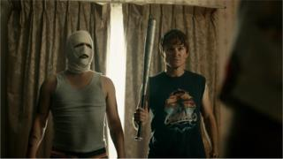 A still from the film Down Under