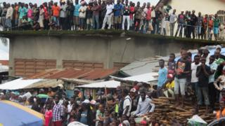 Mass burial for Sierra Leone