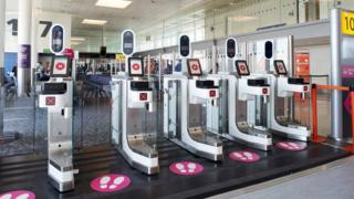 Gatwick facial recognition scanners