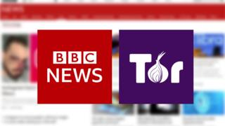 BBC News and Tor logos