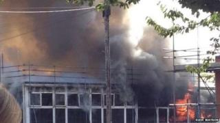 Normanton school fire