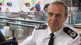 Devon and Cornwall's Chief Constable Shaun Sawyer