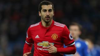 Picture of Mkhitaryan in a United shirt