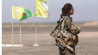 Бійці Сирійських демократичних сил наступають на Ракку