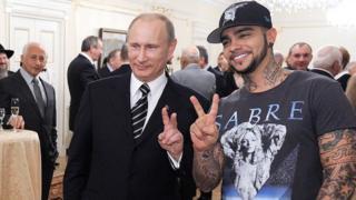 Timati ve Putin