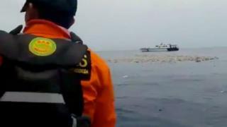 "Обломки разбившегося в Индонезии ""Боинга"""