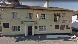 Rising Sun pub in Wimborne