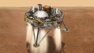 The InSight lander