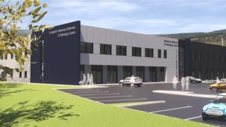 CGI of planned CVS Group facility in Livingston