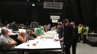 Count at Thurrock