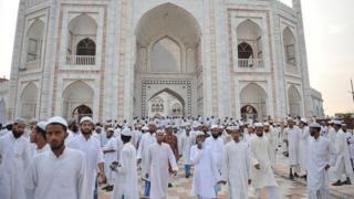 ভারতে উত্তর প্রদেশের দেওবন্দে প্রখ্যাত ইসলামী শিক্ষা কেন্দ্র দারুল উলুম