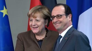 Меркель і Олланд