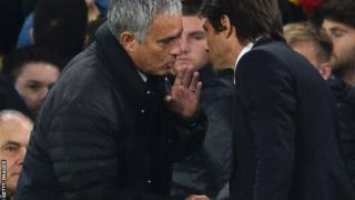 Jose Mourinho na Antonio Conte