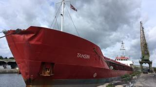The Tahsin in Sharpness Docks