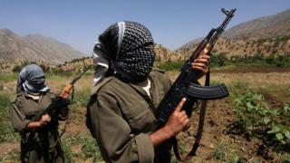 PKK'lılar
