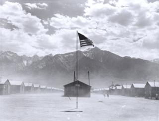 Manzanar Relocation Center, Manzanar, California, 3 July, 1942
