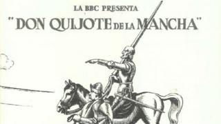 Folleto de presentación de los episodios de Don Quijote producidos por la BBC