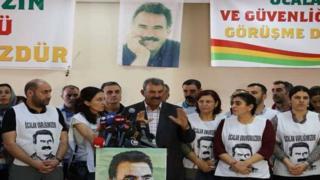 Mehmet Öcalan, Diyarbakır DBP il binasında
