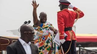 shugaba Akufo-addo na Ghana