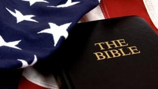 Библия и флаг США