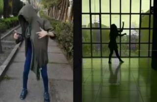 춤을 추는 동영상을 인터넷에 올리는 '춤 시위'가 전세계로 확산되고 있다