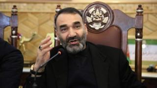 """ارگ ریاست جمهوری افغانستان روز دوشنبه اعلام کرد که """"استعفای عطامحمد نور، والی بلخ"""" را تایید کرده است"""