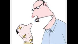 کارتون مسعود ضیایی زرد خشویی. قانون