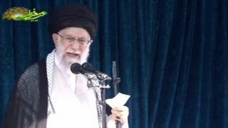 """رهبر ایران: """"معامله قرن"""" نتیجه خیانت عربستان و بحرین"""