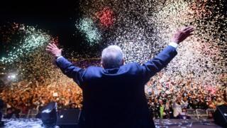 López Obrador conquista una plaza que esperó 30 años en recibir un presidente de izquierda.