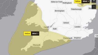 Storm Atiyah: Power cuts and travel disruption for Wales