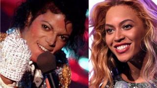 Aworan Beyonce ati Micheal Jackson