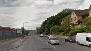 Keppochhill Road near Saracen Street.