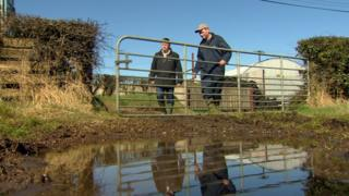 Sodden fields in Spring caused problems for farmers