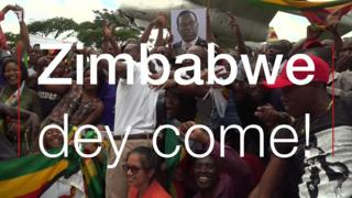 Zimbabwe people wey dey jolly say dem get new leader