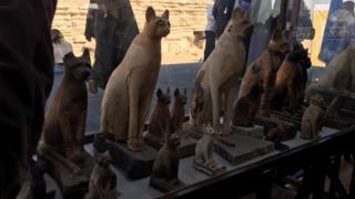 كشف أثري مومياوات لاسود بمصر